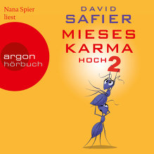 Safier, Mieses Karma hoch 2 (Cover)